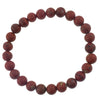 8mm Semiprecious Gemstone Bead Elastic Bracelet