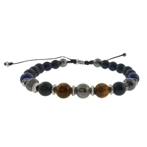 Mixed Semiprecious Stones Bracelet - Jan Leslie Cufflinks and Accessories