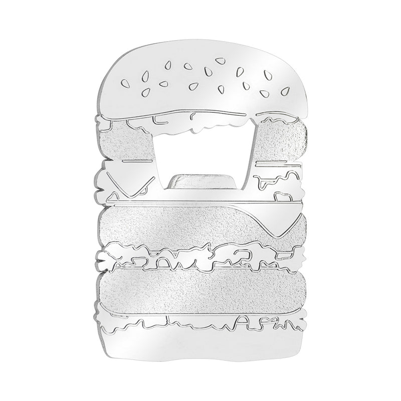 Hamburger Bottle Opener