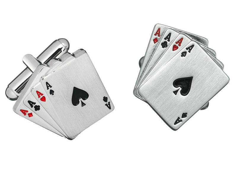Poker Card Cufflinks