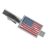American Flag Mother of Pearl Tie Bar
