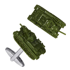 Army Tank Cufflinks by Link Up