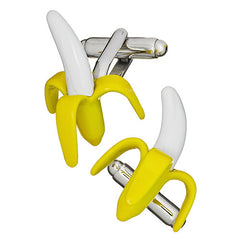 Banana Cufflinks by Link Up
