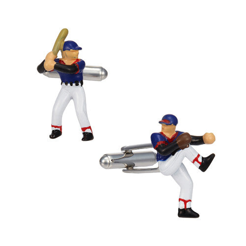Baseball Player Cufflinks by LINK UP