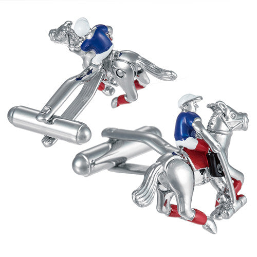 Jockey Cufflinks by Link Up
