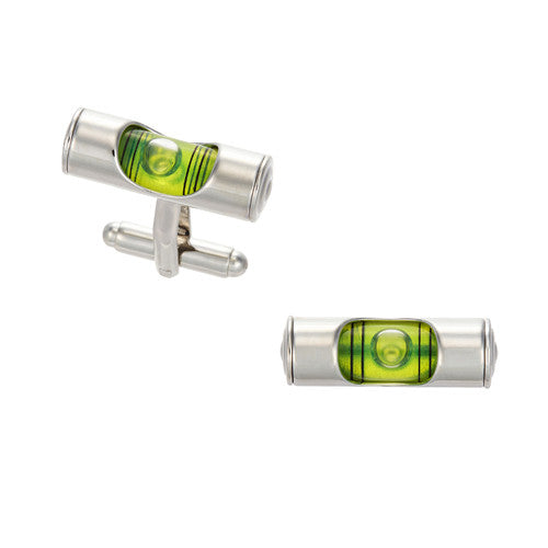 Working Level Cufflinks in Green by LINK UP
