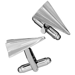 Paper Airplane Cufflinks by Link Up