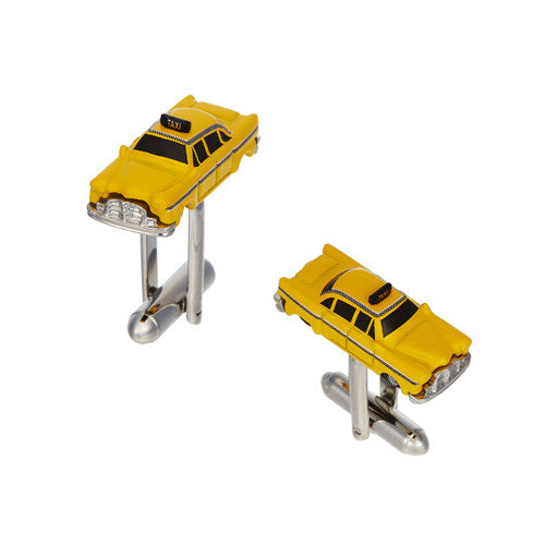 Taxi Cab Cufflinks by LINK UP