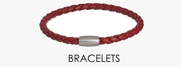 Leather bracelets for men