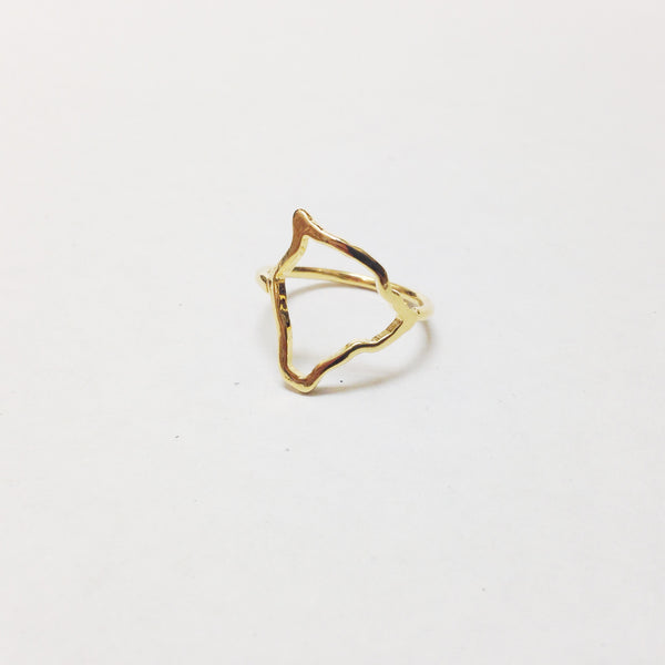 Big Island (Hawaii) Grown Ring (Gold Vermeil)