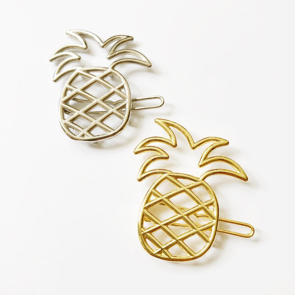 Alohaminimaker Pineapple Hairclip
