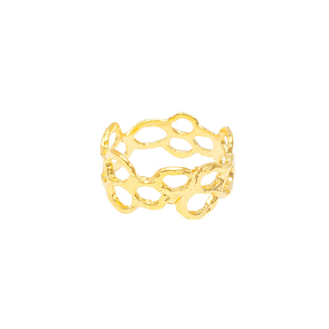 Classic Mermaid Ring (14k Gold Vermeil)