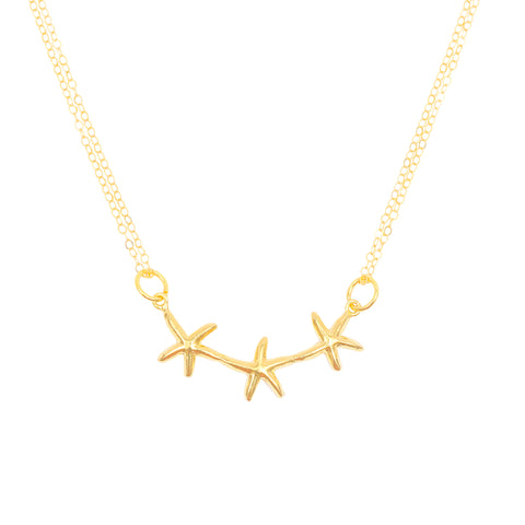 Wish Upon A Star Trio (14k Gold Vermeil)