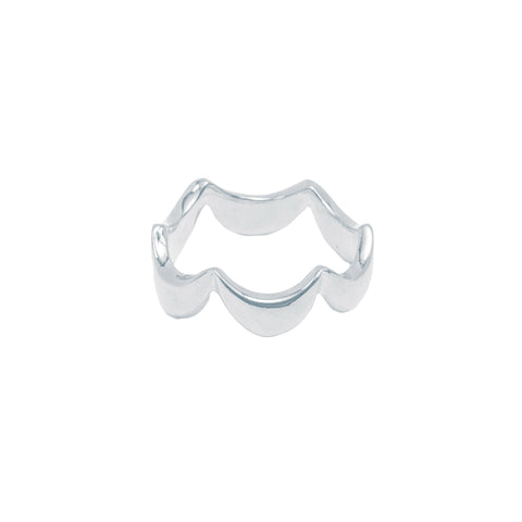 Single Wavy Ring (Sterling Silver)