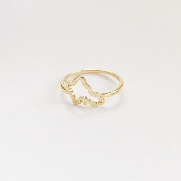 Mini Oahu Ring (Solid 14k Gold)