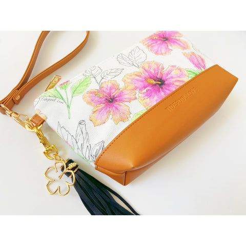 The Hunakai Clutch: Hilo Hibiscus
