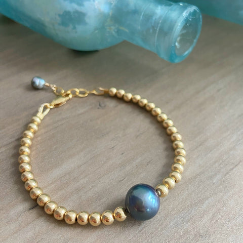 Arctic Blue Mermaid Bubble Bracelet