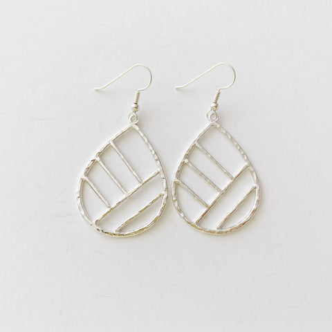 Ko'olau Mountain Earrings (sterling silver)