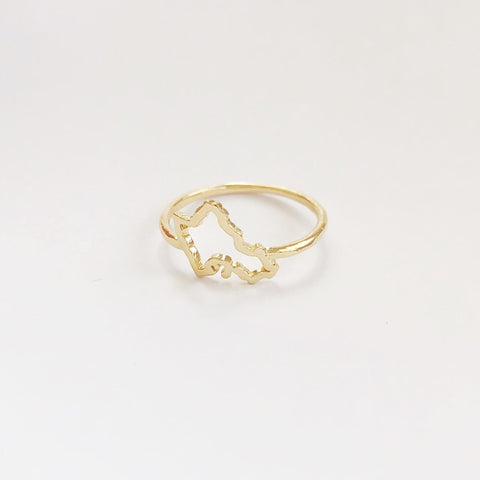 Mini Oahu Ring (Gold Vermeil)