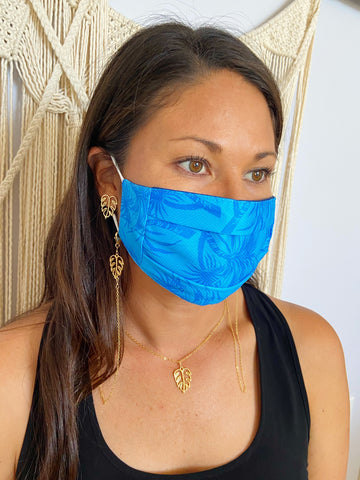 Island Getaway Face Mask Chains (14kGF)
