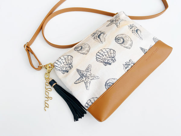 Diamond Head Crossbody: Sandy Beach