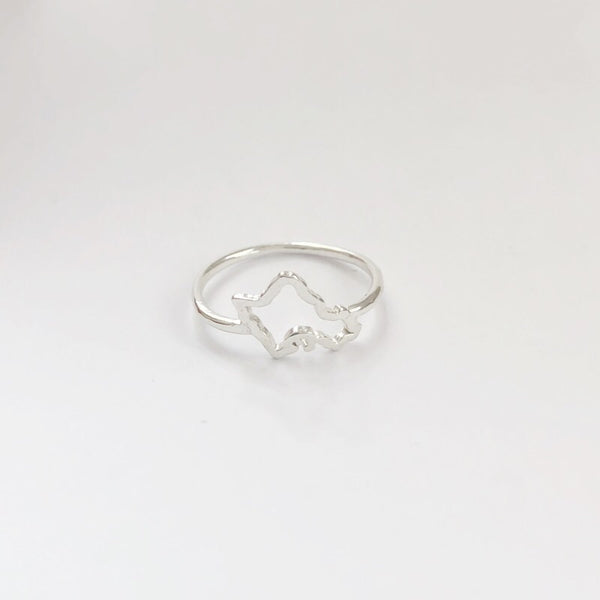 Mini Oahu Ring (Sterling Silver)