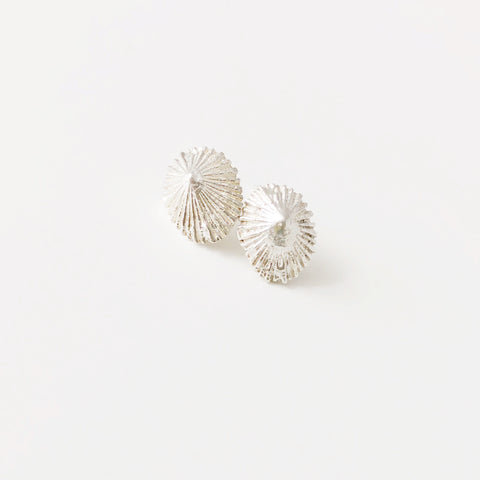 Mini Opihi Stud Earring (Sterling Silver)