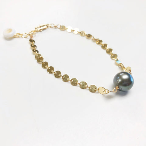 Mini Moons Bracelet (14k Gold Fill)