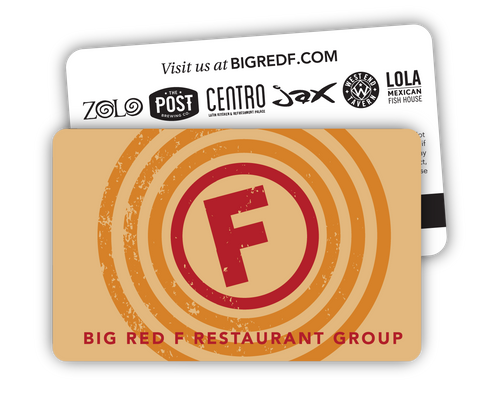 Big Red F Gift Card