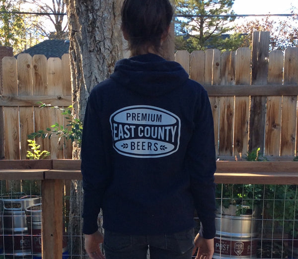 Post Brewing Co. Full Zip Hoodie