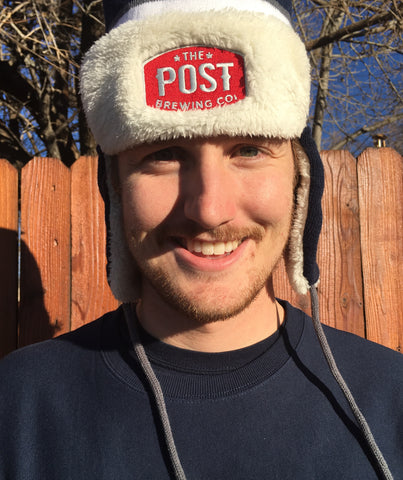 Post Brewing Co. Trapper Beanie
