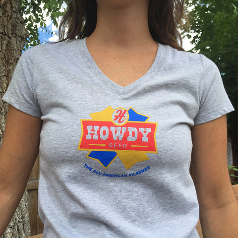 Post Brewing Co. Howdy V-Neck
