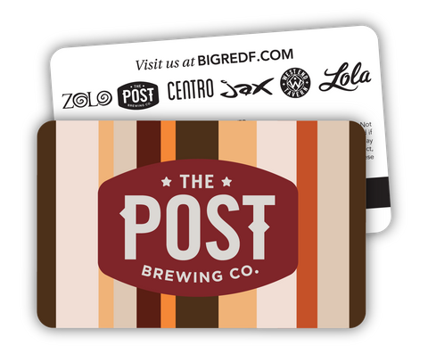 The Post Brewing Co. Gift Card