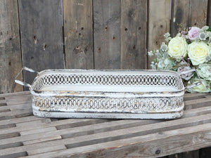 Chic Antique metalbakke