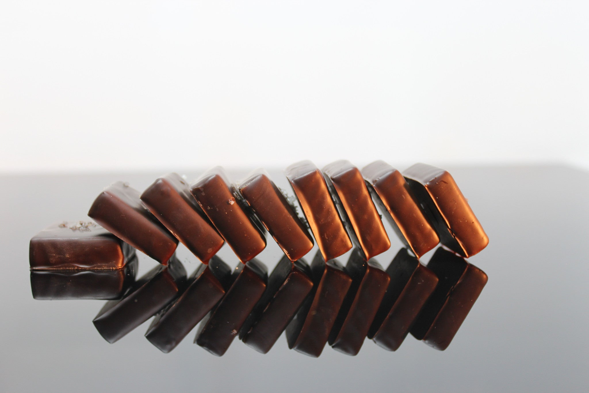 8 Piece Chocolate Covered Sea Salt Caramel
