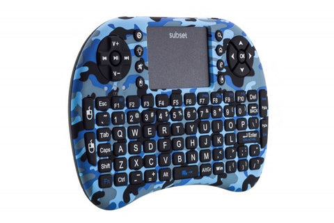 Subset i8+ 2.4GHz Wireless Keyboard with Touchpad