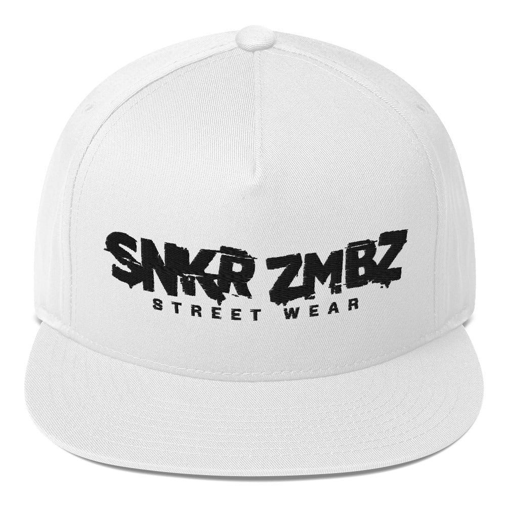 SNKR ZMBZ Clean Flat Bill Cap