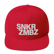 Load image into Gallery viewer, SNKR ZMBZ Puff Snapback Hat