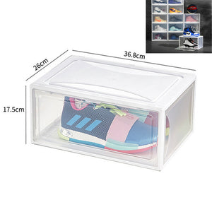 Stackable Thick Transparent Sneaker Box