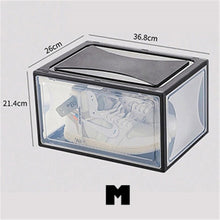 Load image into Gallery viewer, Stackable Thick Transparent Sneaker Box
