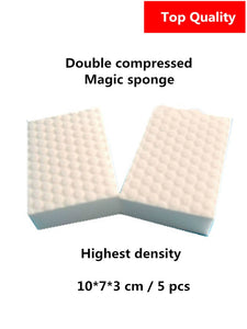 High density double compressed magic eraser