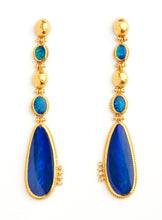 Load image into Gallery viewer, Love X Luxury Exclusive 24K Gold with Opal Earrings