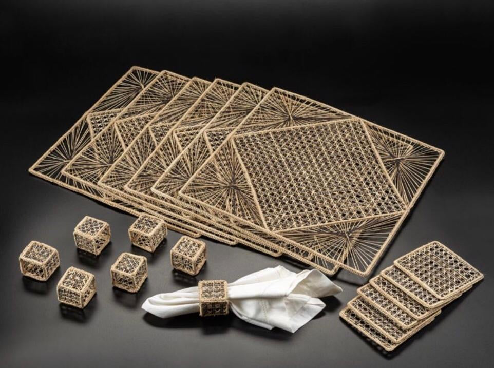 Artisan Handcrafted Natural Placemats