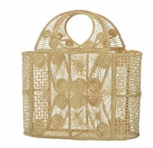 Load image into Gallery viewer, Artisan Handcrafted Natural Iraca Palm Tote