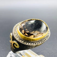 Load image into Gallery viewer, Love X Luxury Exclusive 24K Gold Mens Ring