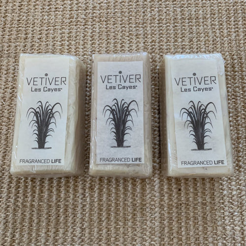 VETIVER LES CAYES Hand Milled Artisanal Soaps