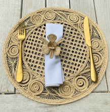 Load image into Gallery viewer, Artisan Handcrafted Natural Napkin Rings
