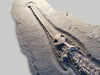 Fossil Crocodile for Sale - Steneosaurus bollensis from Holzmaden - 13.45 feet long - 3 - Skull and neck vertebrae
