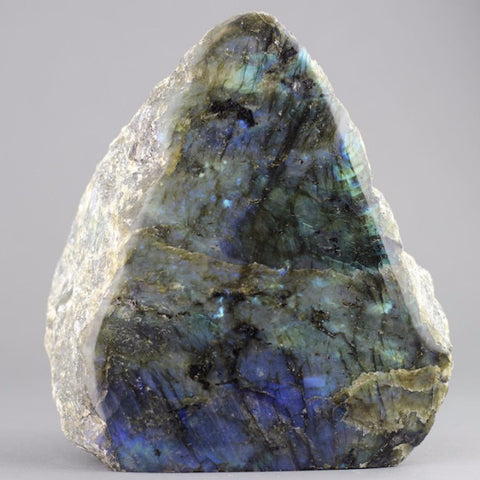 Labradorite for Sale: Polished Natural Labradorite Sculpture -6.75 inches