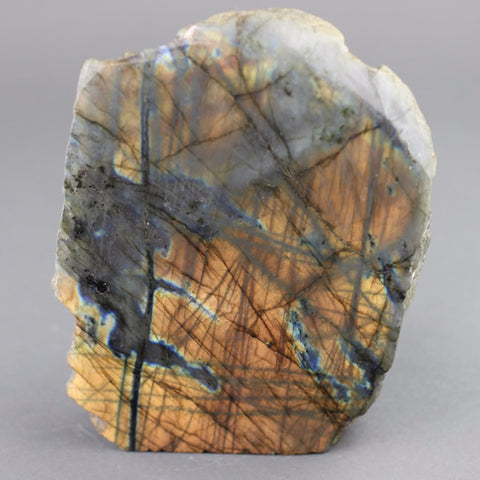 Polished Natural Labradorite Sculpture - 6.5 inches